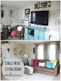 mobile home living room decorating ideas momma hen s beautiful single wide makeover single wide hens and house