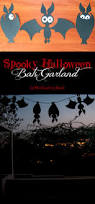 spooky halloween bats garland cut files the crafting nook by