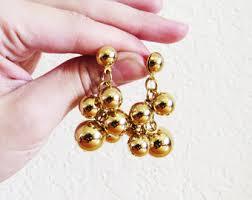 1970s earrings 70s earrings etsy