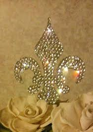 fleur de lis cake topper fleur de lis cake topper 5 by cupcake toppers babycakes site