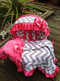 Pink Car Seat Canopy by Baby Car Seat Cover Canopy Cover Blanket Set Fit Most Infant Seat