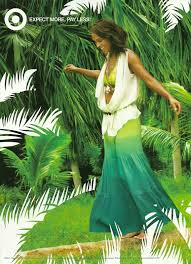all things simplified calypso st barth for target ads in vogue