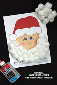 christmas kids craft with free printables inspiration made simple
