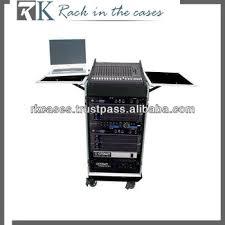 Audio Rack Case Rk Audio System Rack Case 10u Slant Mixer Rack 14u Vertical Rack