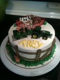 john deere tractor cake my son evan was turning 3 and he really