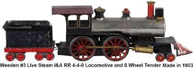 weeden trains