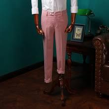 popular mens pink dress pants buy cheap mens pink dress pants lots