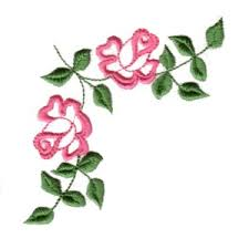 adorable roses machine embroidery designs