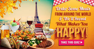 order some meals from around the world and we ll reveal what makes