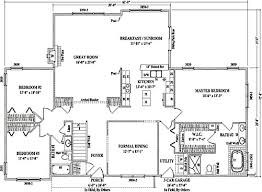 large ranch floor plans durham ii by wardcraft homes ranch floorplan
