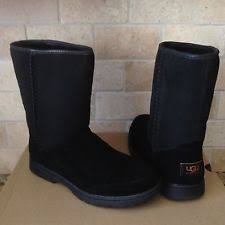 s suede boots size 11 ugg womens aztek woven suede boots black size 11 style 1011238 ebay