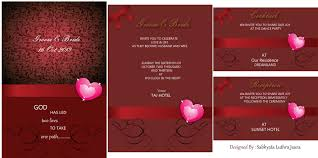 Invitation Card How To Design A Wedding Invitation Card In Coreldraw Yaseen For