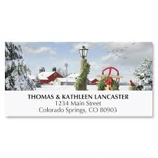 winter in the country address labels current catalog