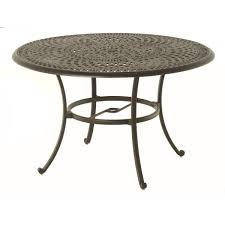 Hanamint Reviews by Hanamint Bella 48 Inch Round Dining Table Patiosusa Com
