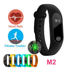 oled health bracelet images M2 xiaomi fitness tracker watch band heart rate monitor waterproof jpg