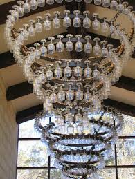 Wine Glass Chandelier Diy Home Design Endearing Chandelier Wine Glass Time Home Design