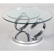 circles chrome table closed home furniture indoor