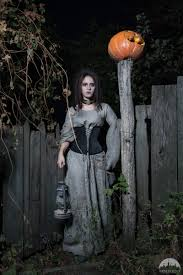 halloween corset corset and linen chemise halloween edition by medieval store