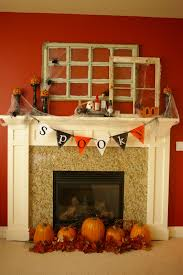 fall fireplace mantel and decorating simple fireplace mantels