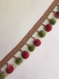Fringe Home Decor by Pink Coral And Green Ball Fringe Home Decor Trim Drapery
