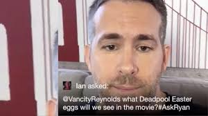 ryan reynolds deadpool twitter q u0026a full youtube