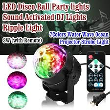 sound activated dj lights disco ball party ripple sound activated dj lights for parties