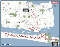 South Walton Florida Map by Okaloosa Route 20 Ec Rider