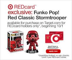 target funko pop black friday funko pop red classic stormtrooper available tomorrow at target