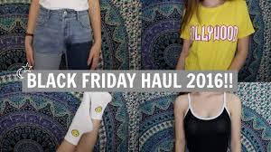forever black friday huge try on black friday haul 2016 pacsun zara forever 21