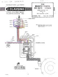 single phase magnetic starter wiring diagram dolgular com