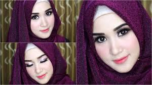 tutorial makeup natural hijab pesta 00 tutorial makeup hijab sehari hari cocok buat ke pesta mp4b