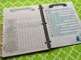 camping menu planner template mormon mom planners monthly planner weekly planner ultimate just a few samples of the colorful pages that you get with your downloadable purchase it has just a bit of everything you need to plan a great camp