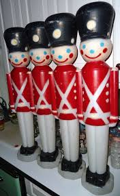 4 four vintage empire soldiers mold x lights outdoor
