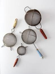 collection vintage kitchen strainers u2013 86 vintage