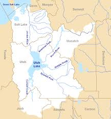 Map Of Utah With Cities by File Jordan River Basin Png Wikimedia Commons