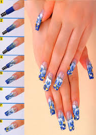 picture 5 of 6 acrylic nail art photo gallery 2016