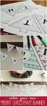 merry christmas coloring banner u create