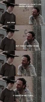 Walking Dead Meme Carl - the walking dead 23 of the funniest rick carl dad jokes smosh