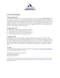 Sales Manager Resume Samples by Hospitality Manager Resume Sample Free Resume Example And