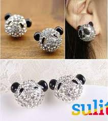 baby earrings philippines baby panda studded earrings fashion jewelry philippines