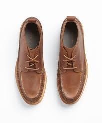 cole haan olmstead moc chukka in british tan in brown for men lyst