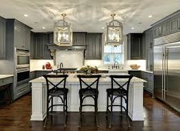 dark gray kitchen cabinets with light walls grey shaker pinterest
