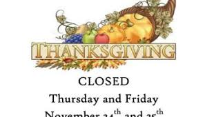 just a reminder that we will be closed for staff development