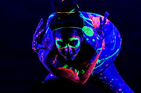 Black Light Body Paint Enter The Surreal World Of Black Light Photography