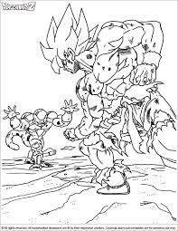 15 coloring pages images dragon ball