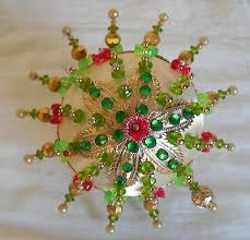 vintage beaded ornaments collection on ebay
