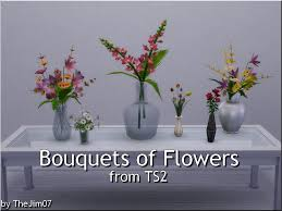 bouquets of flowers mod the sims bouquets of flowers from ts2
