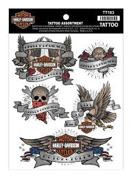 amazon com harley davidson temporary tattoos classic tattoo
