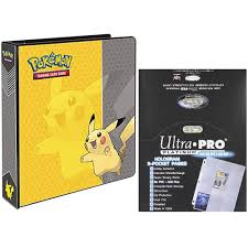 photo album pages 3 ring pikachu 2 3 ring binder card album with 100 ultra pro