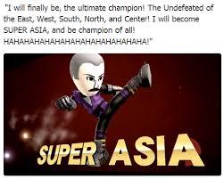 Asia Meme - super asia super smash brothers know your meme